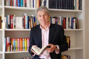 Reinhard Wittmann, Leiter des Literaturhauses München und Geschäftsführer des Literaturfestes München.  (c) Lissy Mitterwallner